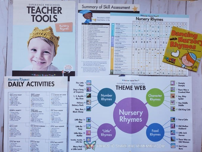 Teacher Tools Experience Early Learning Nursery Rhymes