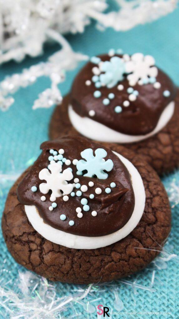 Chocolate Marshmallow Cookie Recipe