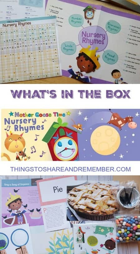 What's in the Box Nursery Rhymes Experience Early Learning Preschool Curriculum