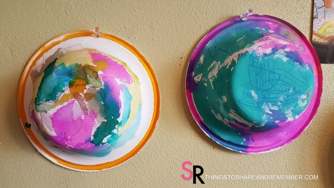 Painted Bowls Preschool Art #MGTblogger