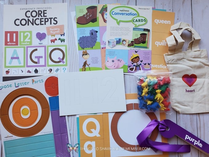 core concepts - Experience Early Learning Nursery Rhymes