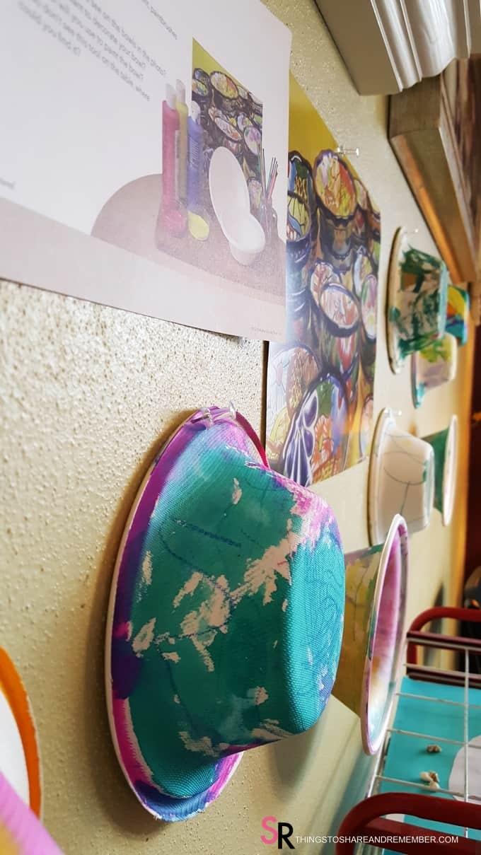 Painted Bowls Preschool Art #MGTblogger