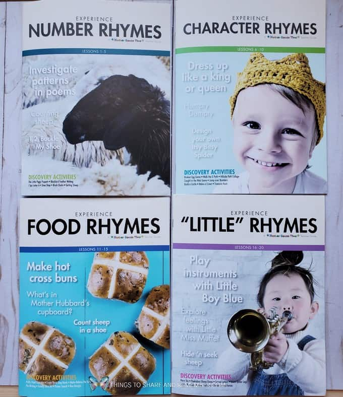 Teacher Guides Experience Early Learning Nursery Rhymes