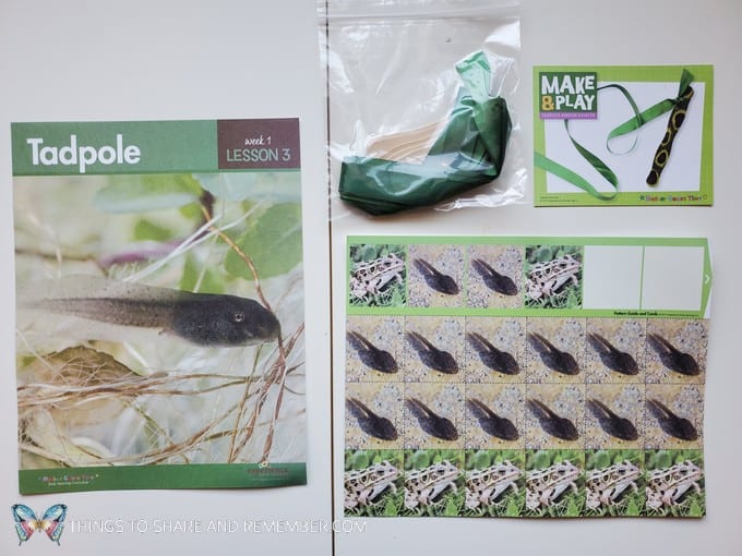 preschool tadple lesson pond life theme