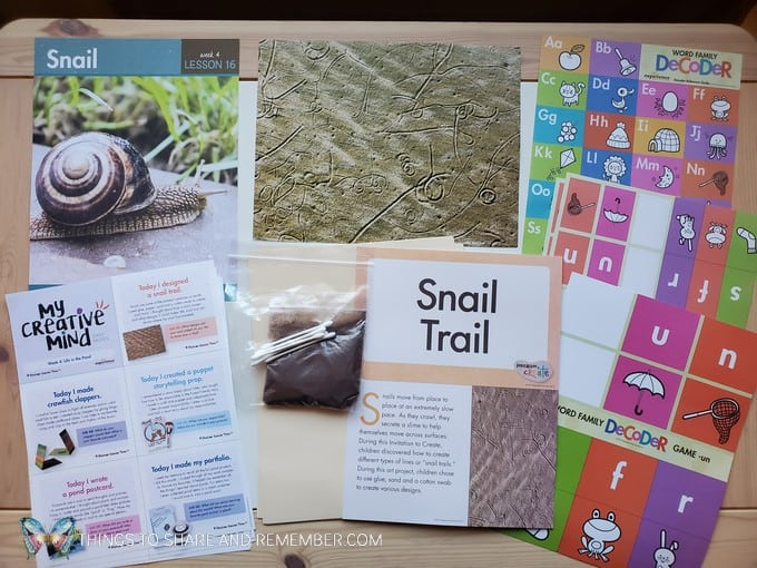 preschool snail lesson pond life theme