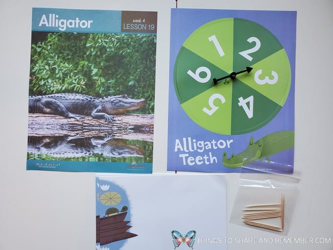 preschool alligator lesson pond life theme