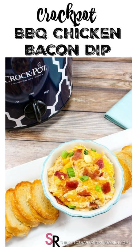Crockpot BBQ Chicken Bacon Dip Recipe - Share & Remember