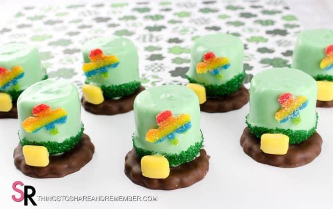 St. Patrick's Day Leprechaun Hat Treats