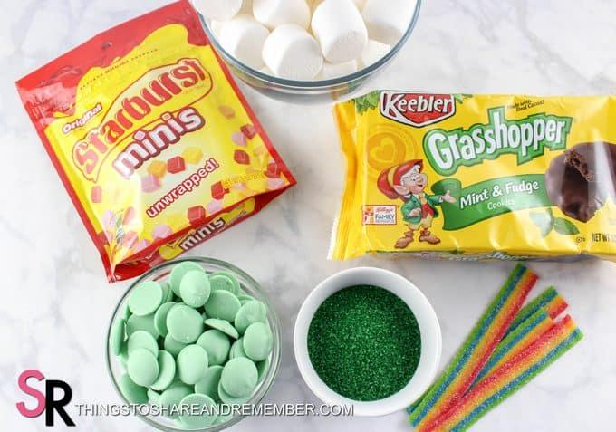St. Patrick's Day Leprechaun Hat Treats ingredients