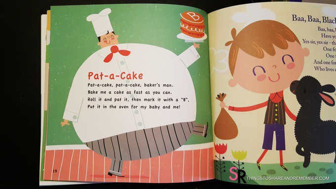 Nursery Rhymes Pat A Cake Book