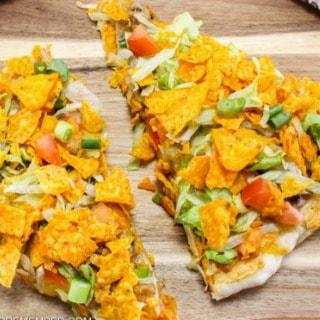 Quick & Easy Taco Pizza recipe