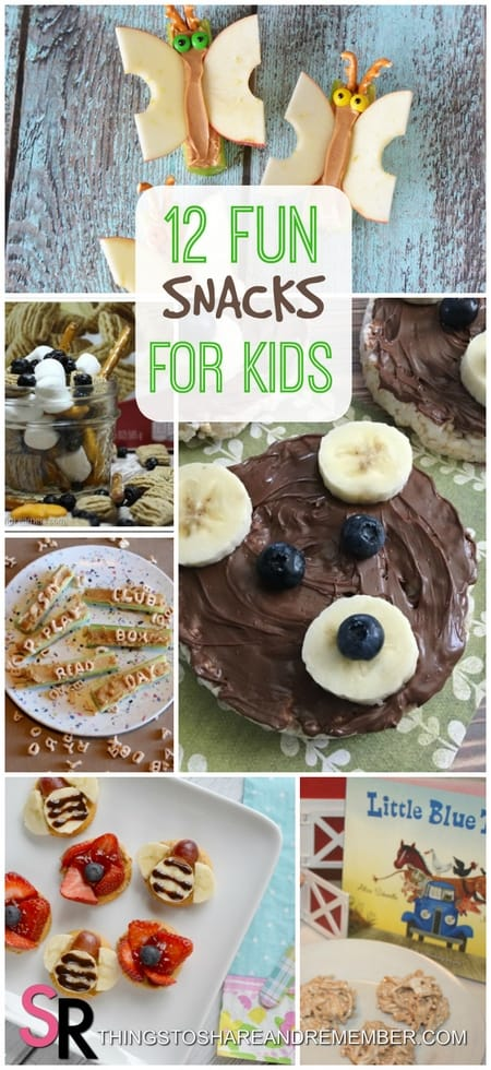 12 Fun Snacks for Kids