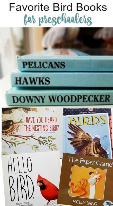 Favorite Bird Books for Preschoolers