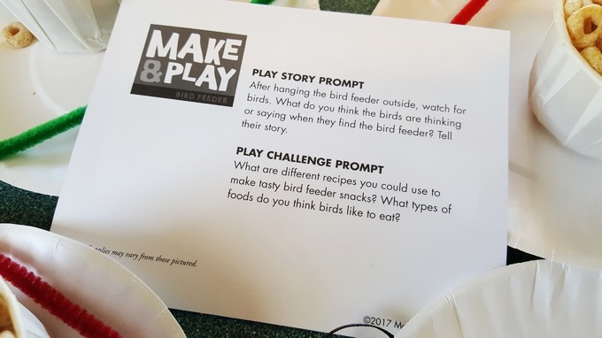 Make & Play story prompt