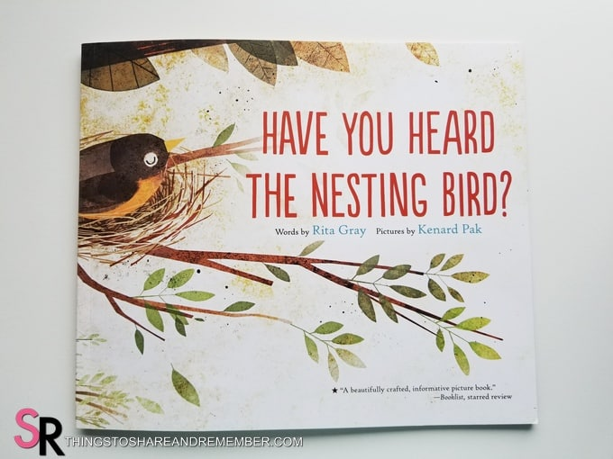 Have you heard the nesting bird? book