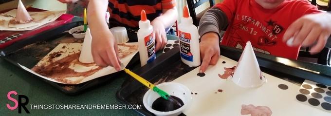 ant hill preschool art