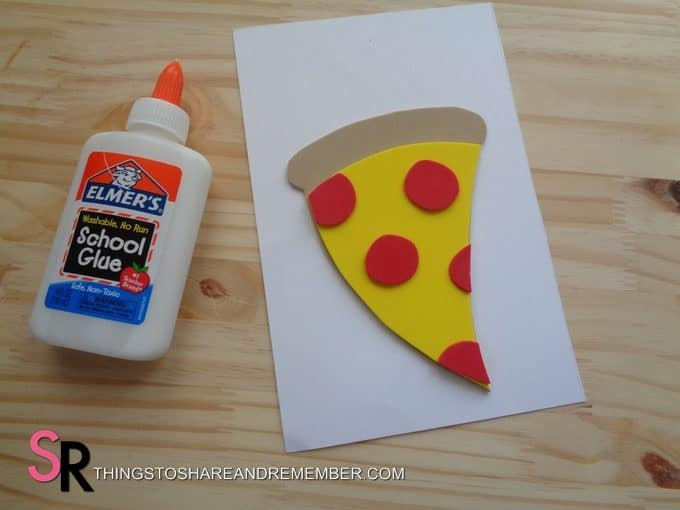 Father's Day Pizza Card