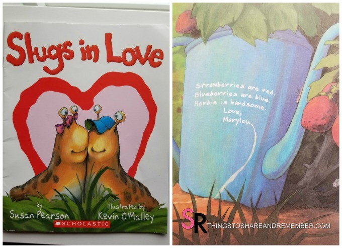 slugs in love book cover and page