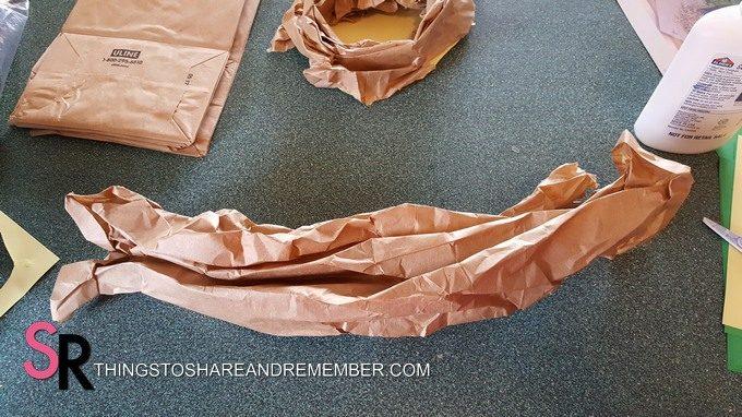fold up paper bag