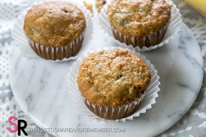 baked muffins on a trivet