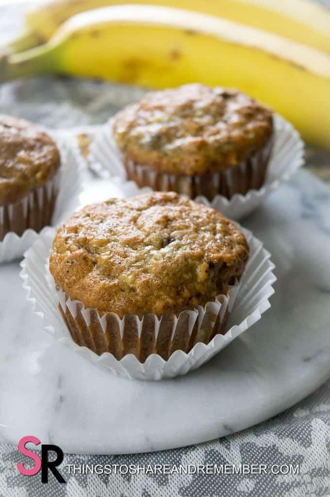 muffins and banana