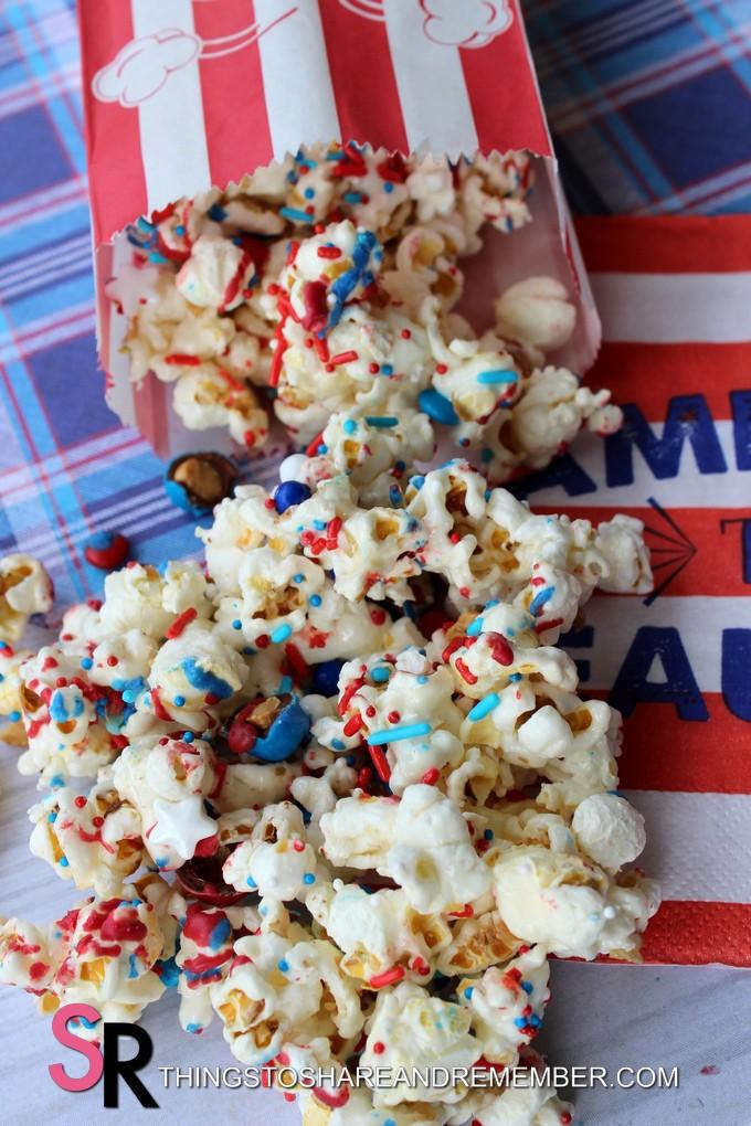 4th of July Popcorn