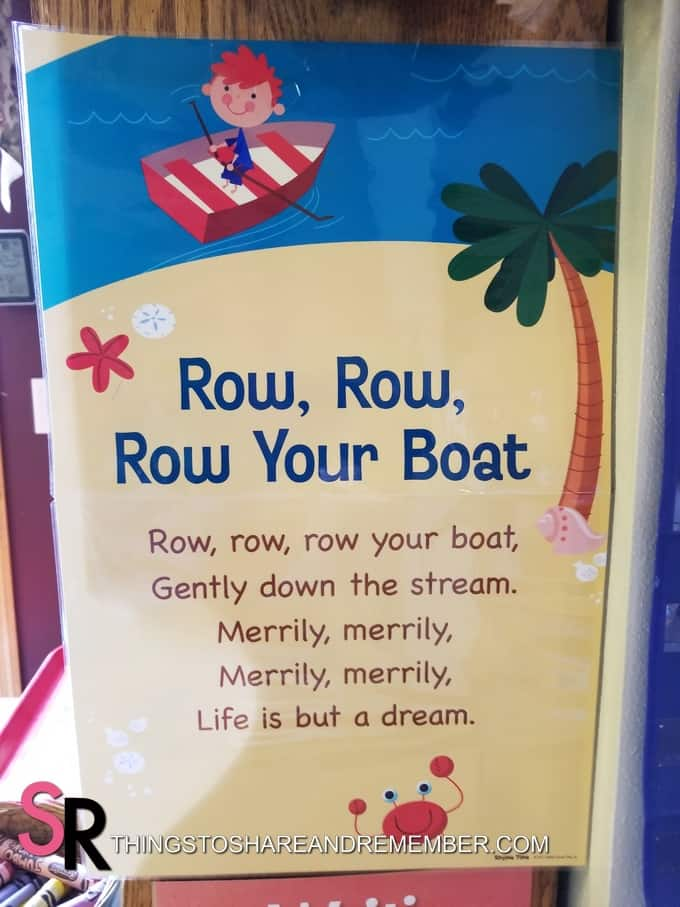row row row your boat rhyme