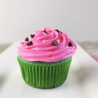 Summertime Watermelon Cupcakes