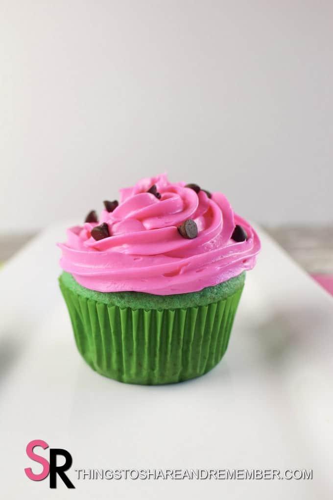 Summertime Watermelon Cupcakes