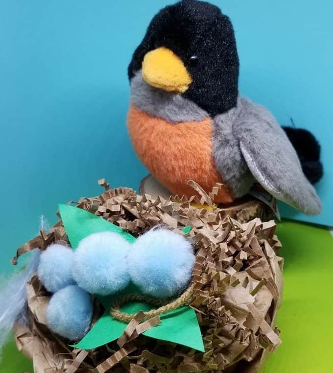 Paper Bird Nests