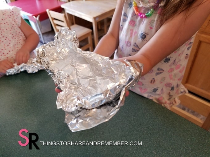 folding foil