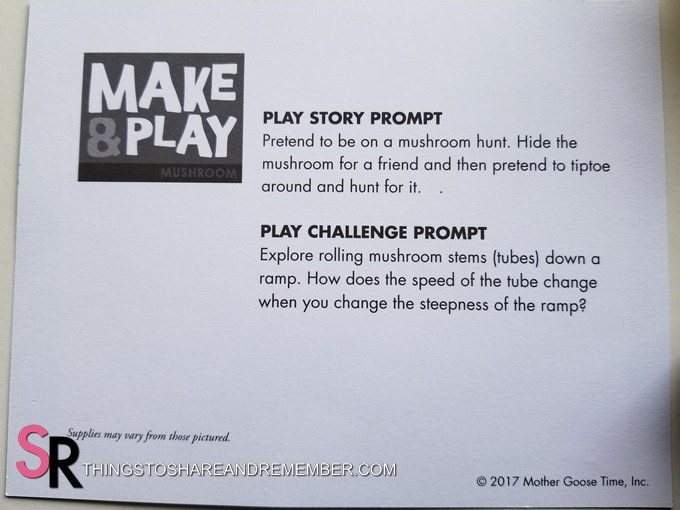 Make & Play ideas