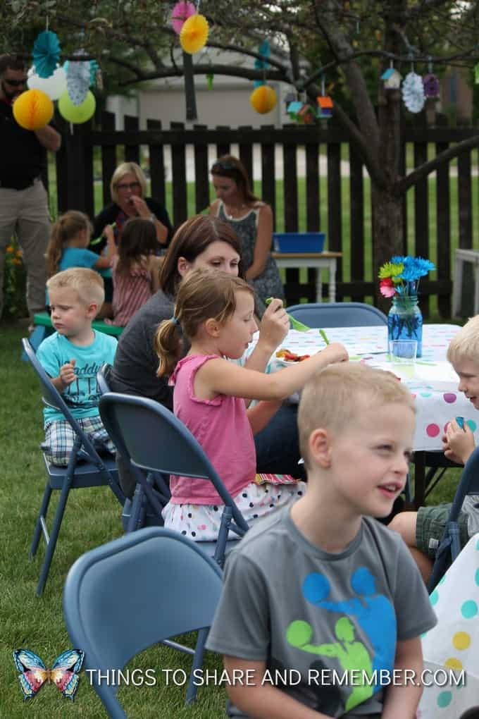 Hosting a Preschool Garden Party