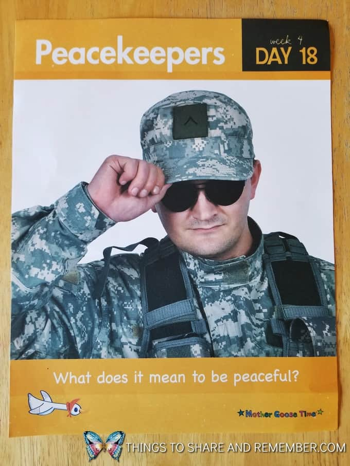 daily topic poster peacekeepers