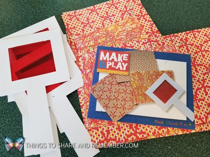 Make and Play materials from Mother Goose Time