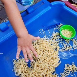 Noodle Brain Sensory Play