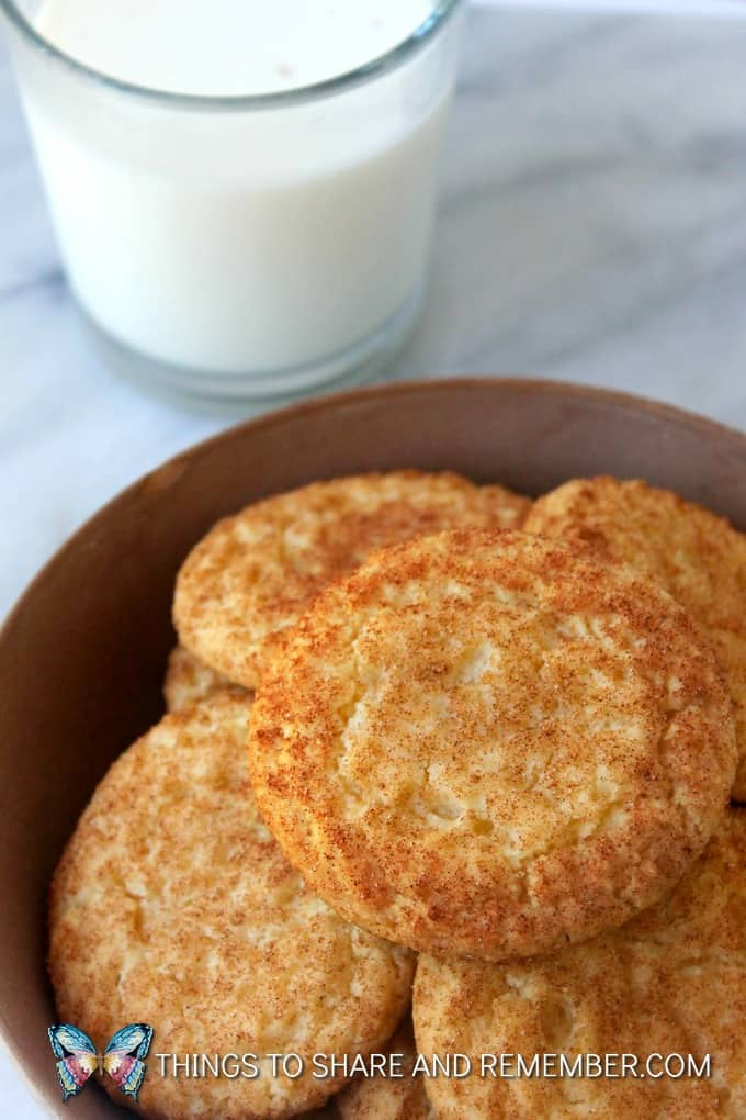 Buttery Snickerdoodles