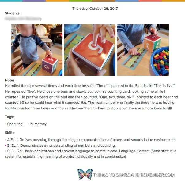 Childfolio moment PDF