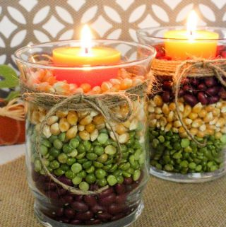 Fall Harvest Candles