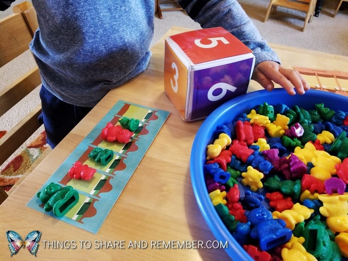 observing preschool math skills