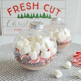 Hot Chocolate Ornaments Holiday Gift Idea