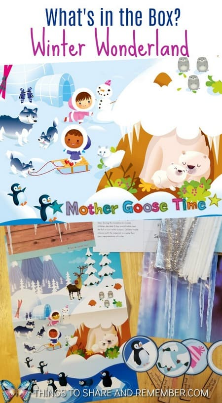 What's in the Box? Winter Wonderland Mother Goose Time Preschool Curriculum