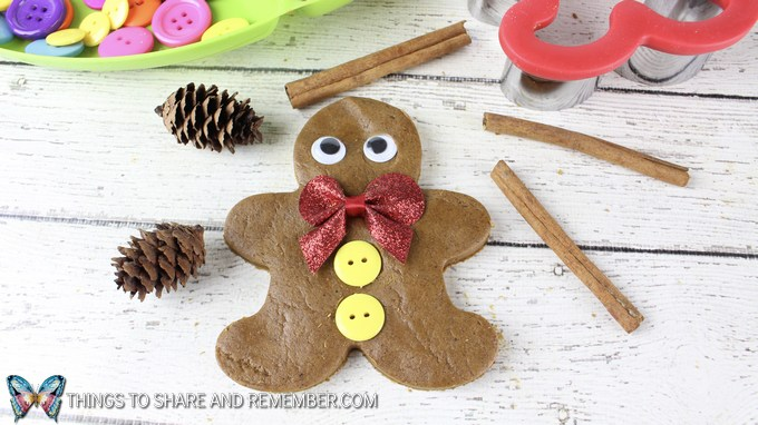 Gingerbread Man Play Dough