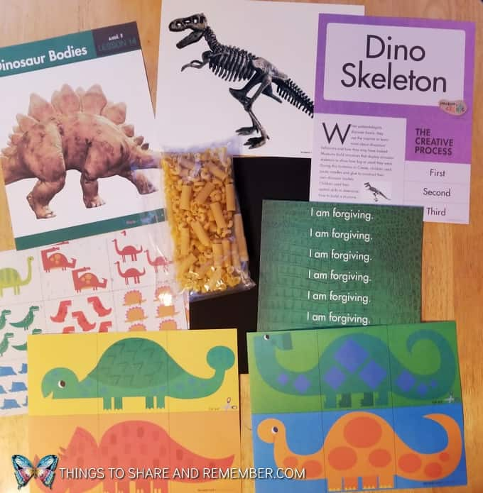 What's in the Box? Dinosaur Dig