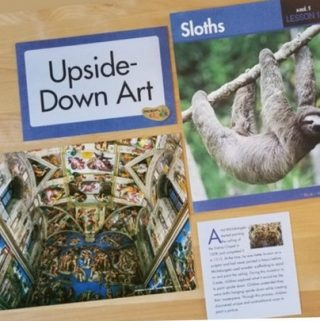 Upside Down Art