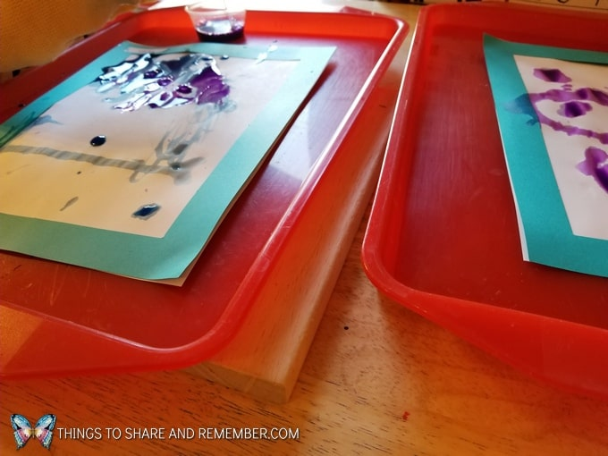 Freezing & Melting science art and literacy for preschoolers Mother Goose Time preschool curriculum #MGTblogger
