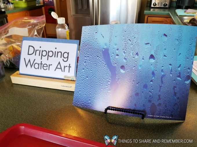 Dripping Water Art