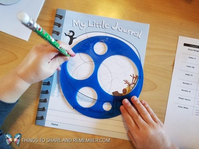 tracing circle stencils