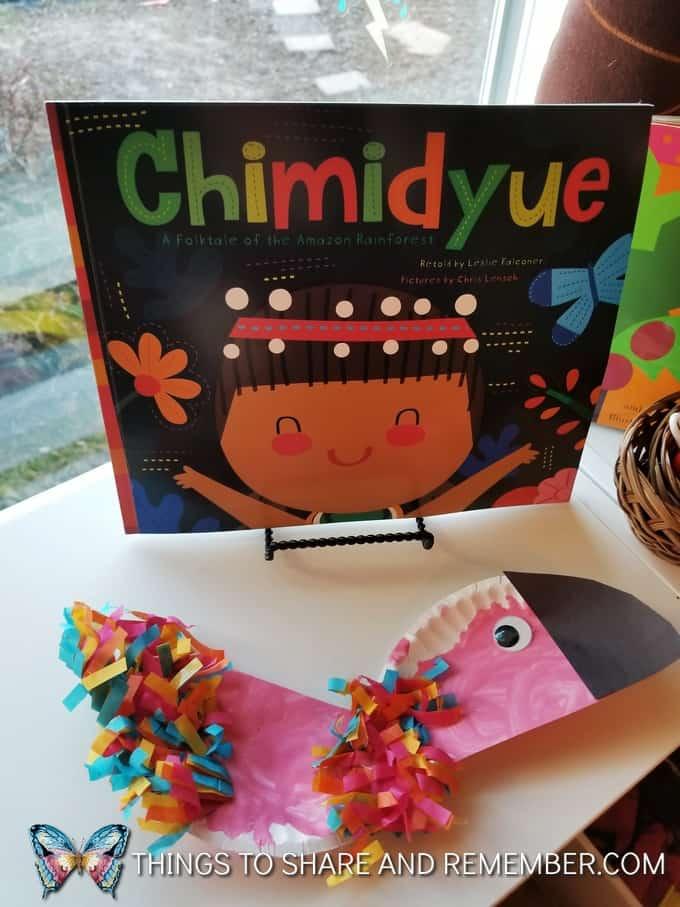 Chimidyue book - rainforest theme