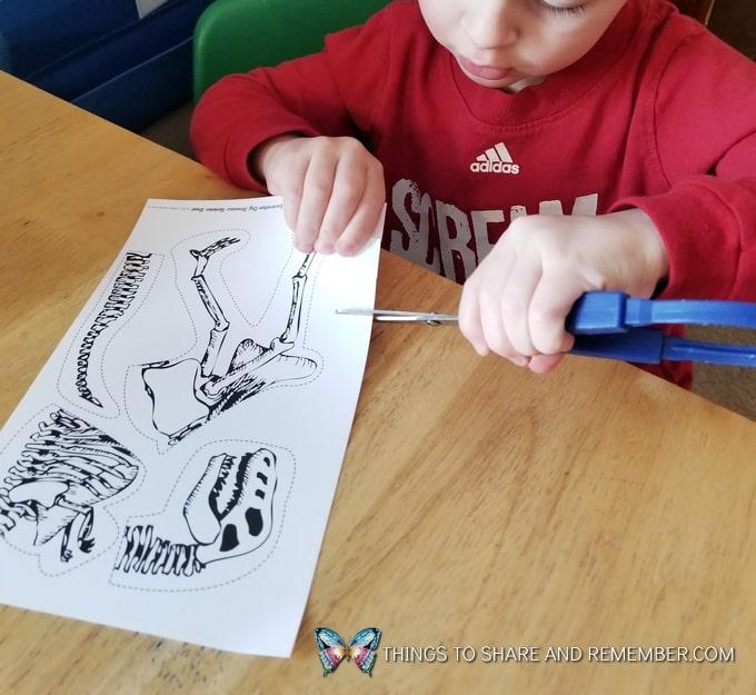 preschool cutting practice